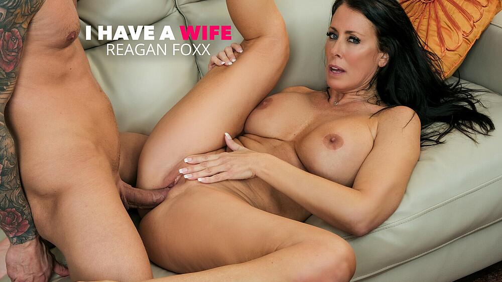 Hot Milf Reagan Foxx fucks a married man