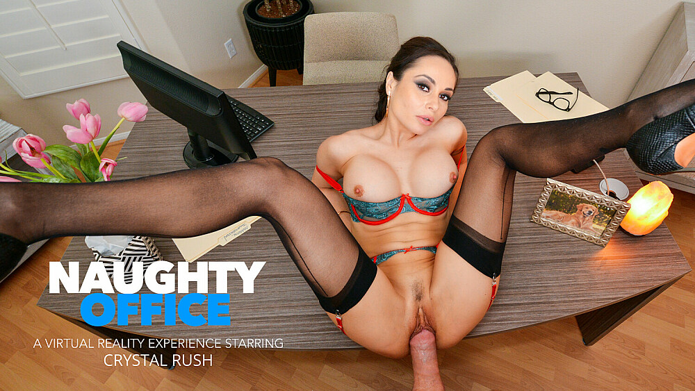 Your marriage counselor Crystal Rush wants to fuck your brains out!