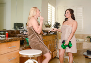 AJ Applegate & Keisha Grey & Preston Parker in 2 Chicks Same Time