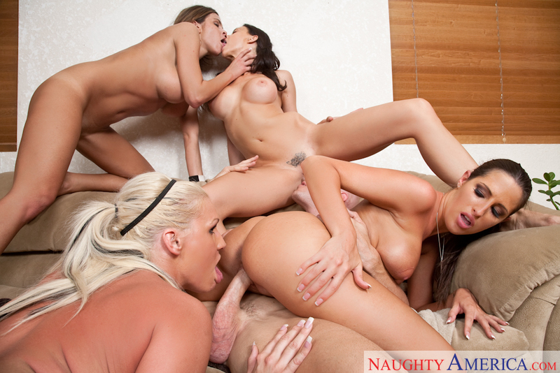 Something Hot girl threesome frat