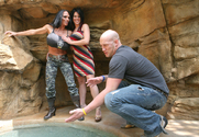 Charisma Cappelli & Lisa Lipps & Christian in 2 Chicks Same Time story pic