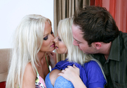 Shawna Lenee, Diana Doll & Will Powers in 2 Chicks Same Time - Sex Position 1
