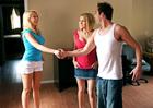 Kagney Linn Karter & Krissy Lynn - Sex Position 1