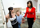 Lisa Ann & Kendra Lust in 2 Chicks Same Time - Sex Position 2
