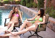 Kimmy Granger & Leah Gotti & Van Wylde in 2 Chicks Same Time