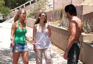 Tera Knightly & Madison Fox & Charles Dera in 2 Chicks Same Time