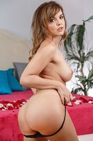 Dillion Harper starring in Wifeporn videos with Brunette and Cum on pussy