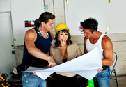 Ava Devine, Tommy Gunn & Alex Sanders in Diary of a Milf - Sex Position 1