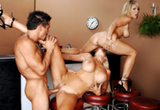 Kayla Synz & Puma Swede & Tommy Gunn in Diary of a Milf