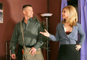 Nina Hartley & Chris Cannon in Diary of a Milf - Sex Position 1