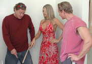 Vicky Vette, Alex Sanders & Anthony Hardwood in Diary of a Milf - Sex Position 1