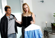 Annette Schwarz & VooDoo in Diary of a Nanny - Sex Position 1