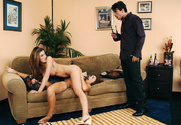 Jaclyn Case, Kayla Paige & Manuel Ferrara in Diary of a Nanny - Sex Position 1