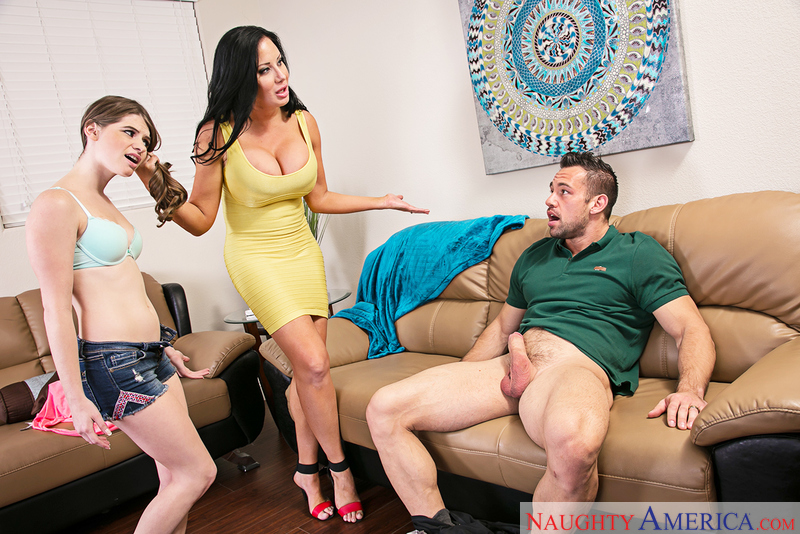 Naughtyamerica – Alice March & Sybil Stallone in I Have a Wife