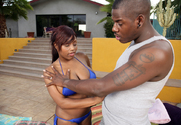 Jada Fire & Julius Ceazher in I Have a Wife