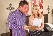 Karla Kush & Johnny Castle in I Have a Wife - Sex Position 1
