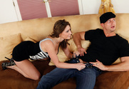 Victoria Lawson & Bill Bailey in I Have a Wife - Sex Position 1