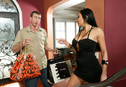 Audrey Bitoni & Jordan Ash in My Dad's Hot Girlfriend - Sex Position 1