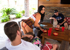 Audrey Bitoni & Xander Corvus in My Dad's Hot Girlfriend - Centerfold