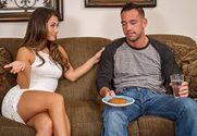 Eva Lovia & Johnny Castle in My Dad's Hot Girlfriend - Sex Position 1