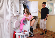 Kimmy Granger  & Tyler Steel in My Dad's Hot Girlfriend - Sex Position 1