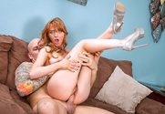 Marie McCray & Derrick Pierce in My Friend's Hot Girl - Sex Position 2