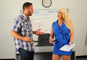 Alura Jenson & Danny Mountain in My Friends Hot Mom - Sex Position 1