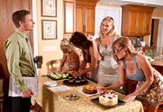 Deauxma, Julia Ann, Holly Halston, Darla Crane & Michael Vegas in My Friends Hot Mom - Sex Position 1