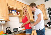 Erica Lauren & Danny Wylde in My Friend's Hot Mom story pic