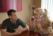 Dana Hayes & Matt Bixel in My Friend's Hot Mom story pic