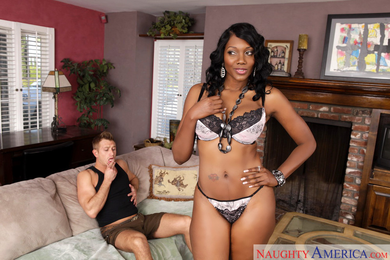 Porn star Nyomi Banxxx getting ready