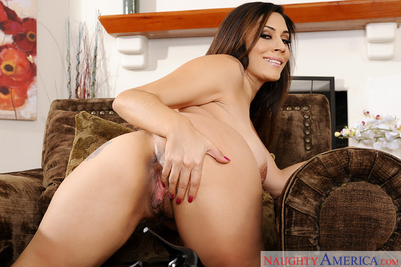 Porn star Raylene getting ready