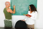 Adriana Deville & Derrick Pierce in My First Sex Teacher story pic