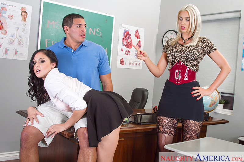 Naughtyamerica – Gigi Allens & Ariana Marie in My First Sex Teacher