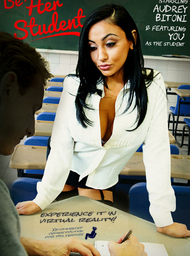 Audrey Bitoni & Ryan Mclane in My First Sex Teacher - Centerfold