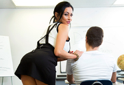 Audrey Bitoni & Xander Corvus in My First Sex Teacher - Sex Position 1