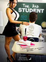 Teacher Porn Video with American and Ass smacking scenes