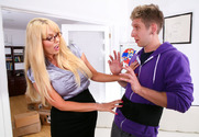 Karen Fisher & Danny Wylde in My First Sex Teacher story pic