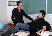 Katrina Isis & Tommy Pistol in My First Sex Teacher - Sex Position 1