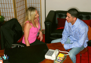 Lisa DeMarco & Alex Gonz in My First Sex Teacher - Sex Position 1