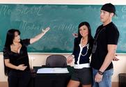 Ashli Orion & Mason Storm & Chris Johnson in My First Sex Teacher