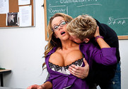 Nikki Sexx & Danny Wylde in My First Sex Teacher - Sex Position 1