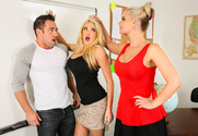 Phoenix Marie, Summer Brielle & Johnny Castle in My First Sex Teacher - Sex Position 1