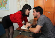 Rayveness & Dane Cross in My First Sex Teacher story pic