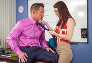 Rayveness & Johnny Castle in My First Sex Teacher