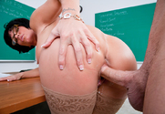 Shay Fox & Seth Gamble in My First Sex Teacher - Sex Position 2