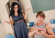 Sophia Lomeli & Billy Hart in My First Sex Teacher story pic