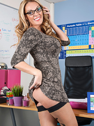 Stacey Saran & Sam Bourne in My First Sex Teacher