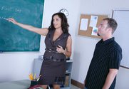 Vannah Sterling & Jenner in My First Sex Teacher - Sex Position 1