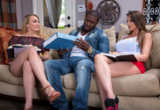 Brooklyn Chase, AJ Applegate & Rob Piper  in My Sister's Hot Friend - Sex Position 1